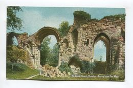 Ruins From The West - St Johns Church - Chester
