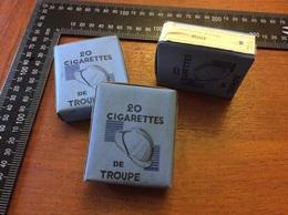 Cigarettes De Troupe Bleu - 1939-45