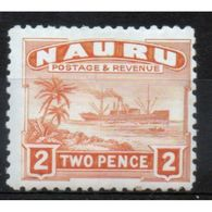 Nauru  2d Definitive Stamp From 1924.  This Stamp Is Catalogue Number 29a And Is In Mounted Mint Condition. - Nauru