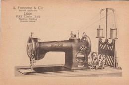 Liègr. A. Francotte& Cie Pax Classe 13-16 Machine à Coudre ZIG-ZAG Grande Vitesse. - Belgique