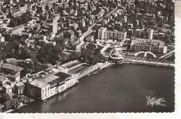 95E01A1 CPSPPF 95 - ENGHIEN LES BAINS  VUE AERIENNE  LE CASINO  L ETABLISSEMENT THERMAL   NV - Enghien Les Bains
