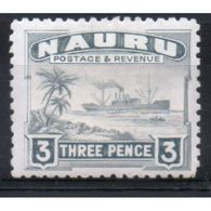 Nauru 3d Definitive Stamp From 1924.  This Stamp Is Catalogue Number 31b And Is In Mounted Mint Condition. - Nauru