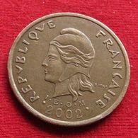 French Polynesia 100 Francs 2002 KM# 14  *V2 Polynesie Polinesia - Polynésie Française