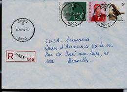 Doc De CINEY E  (5590)  Le 06/09/94  En REc. De Ciney - Postmark Collection