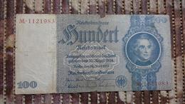 Deutsches Reich 100 Reichsmark  ( 24.6.1935) ( Rosenberg 176 B/ Pick 183) - [ 4] 1933-1945: Derde Rijk