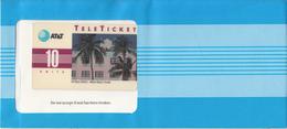 USA - Art Deco District/Miami(EN), AT&T TeleTicket 10 Units, Tirage 1000, 03/93, Mint - United States