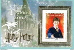 France.bloc No 106 De 2007.harry Potter.n**. - Neufs