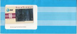 USA - Redwood National Park/California(EN), AT&T TeleTicket 10 Units, Tirage 1000, 09/92, Mint - United States