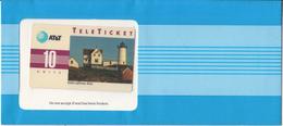 USA - Nubble Lighthouse/Maine(EN), AT&T TeleTicket 10 Units, Tirage 1000, 09/92, Mint - United States