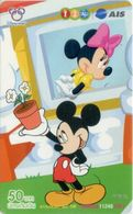 Mobilecard Thailand - 12Call/AIS  - Disney - Mickey & Minnie (1) - Thaïlande