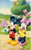 Mobilecard Thailand - 12Call/AIS  - Disney - Mickey & Minnie (3) - Thaïlande
