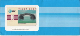 USA - Bridge Connecting Two Worlds(EN), AT&T TeleTicket 10 Units, Tirage 1000, 09/92, Mint - United States