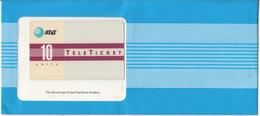 USA - TeleTicket Line Design(EN), AT&T TeleTicket 10 Units, Tirage 1000, 05/92, Mint - United States