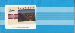 "USA - Arizona""s Grand Canyon(EN), AT&T TeleTicket 10 Units, Tirage 1000, 05/92, Mint - United States"