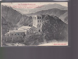 Cpa     St Martin   Du Canigou   Vue D'ensemble  De L'Abbaye   : Année  1918 - Autres Communes