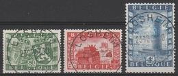 823/825 Belgo-Brittannique/Belgie-Groot Brittannie Oblit/gestp Centrale - Belgique