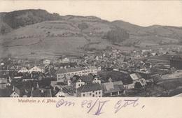 WAIDHOFEN A.d. Ybbs (NÖ) - Panorama, Gel.1905?, Postablage, Gute Erhaltung - Waidhofen An Der Ybbs