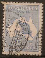AUSTRALIA 1913 6d Roo SG 9 U #AIO328 - Usados