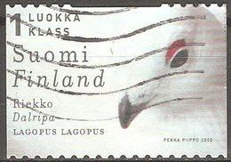 Finlande - 2000 - Lagopède Des Saules - YT 1501 Oblitéré - Finlande