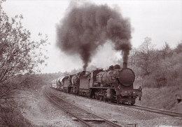 55 TAVANNES - Train Locomotive Double Traction - France