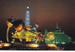 Postcard Walt Disney World Tomorrow's World Today Astro Orbitor And Space Mountain My Ref  B22489 - Disneyworld