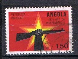 Année De L'indépendance N°603 - Angola