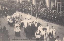 BELGIQUE / BELGIE /  BEGRAFENIS KONING LEOPOLD II / FUNERAILLES DU ROI LEOPOLD II - Familles Royales