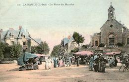 (63) CPA  La Baule  Place Du Marché (Bon état) - La Baule-Escoublac