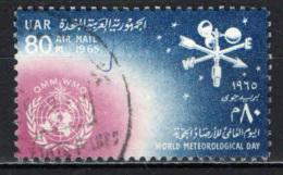 EGITTO - 1965 - Weather Vane, Anemometer And WMO Emblem - Fifth World Meteorological Day - USATO - Posta Aerea