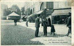 Petits Métiers Le Marchand De Plaisirs PARIS - Petits Métiers à Paris