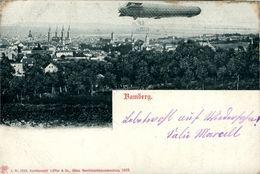 ZEPPELIN Dirigeable Au Dessus De Bamberg - Autres