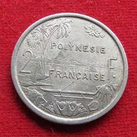 French Polynesia 2 Francs 1979 KM# 10 Polynesie Polinesia - Polynésie Française
