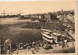 13 - MARSEILLE - LE VIEUX PORT ET LE PONT TRANSBORDEUR - Vieux Port, Saint Victor, Le Panier