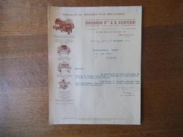 MONTREUIL SOUS BOIS BARBON FRERES & J. LUPOLD CONSTRUCTEURS 42 RUE EDOUARD VAILLANT COURRIER DU 11 SEPTEMBRE 1937 - France