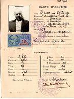 CATE D'IDENTITE N°501 - PUGET SUR ARGENS VAR - Unclassified
