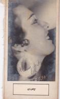 GIPSY; ARLETTE DESFORGES. AUTOGRAPHE SIGNEE AUTHENTIQUE ORIGINAL.-BLEUP - Autogramme & Autographen
