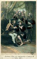 Jeanne D'Arc Présentée à Charles VII - Femmes Célèbres