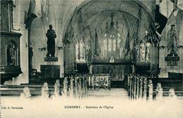 Jeanne D'Arc Intérieur De L'église DOMREMY-La-Pucelle - Femmes Célèbres