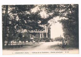 CHAOURCE  10  Chateau De La Cordeliere . L'entrée . - Chaource