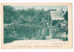 CHAOURCE  10  Chateau De La Cordeliere . La Grille D'honneur . - Chaource