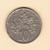 JAMAICA   10 CENTS 1975 (KM # 54) #5131 - Jamaica