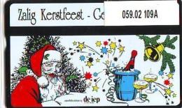 Telefoonkaart  LANDIS&GYR  NEDERLAND * RCZ.059.02  109a * Kerstkaart De IEP * CHRISTMAS * TK * ONGEBRUIKT * MINT - Privé