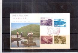 Nikko National Park - FDC  Japan - Série Complète (à Voir) - Géographie