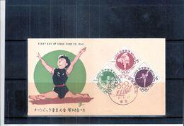 JO Tokyo 1964 - FDC  Japan - Série Complète (à Voir) - Summer 1964: Tokyo