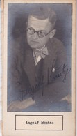 INGOLF KUNTZE; PAULUS C TYNDALL. AUTOGRAPHE SIGNEE AUTHENTIQUE ORIGINAL.-BLEUP - Autografi