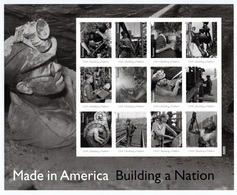 UNITED STATES 2013 Made In America/Plate 1: Sheet Of 12 Stamps UM/MNH - Ganze Bögen