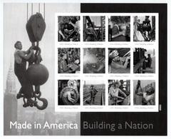 UNITED STATES 2013 Made In America/Plate 2: Sheet Of 12 Stamps UM/MNH - Ganze Bögen