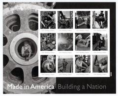 UNITED STATES 2013 Made In America/Plate 3: Sheet Of 12 Stamps UM/MNH - Ganze Bögen