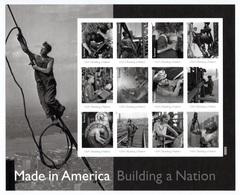UNITED STATES 2013 Made In America/Plate 4: Sheet Of 12 Stamps UM/MNH - Ganze Bögen