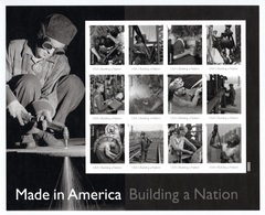 UNITED STATES 2013 Made In America/Plate 5: Sheet Of 12 Stamps UM/MNH - Ganze Bögen